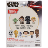 May The Force Star Wars Cross Stitch Kit