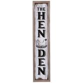 The Hen Den Wood Wall Decor