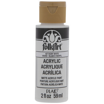 Ivory White FolkArt Acrylic Paint