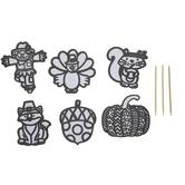 Fall Foil Art Craft Kit