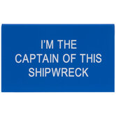 I'm The Captain Name Plate