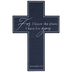 Jeremiah 29:11 Wood Wall Cross