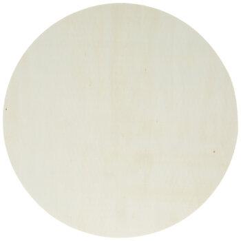 """Circle Wood Shapes - 10"""""""