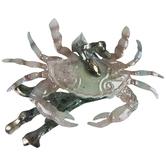 Tan Crab Metal Napkin Ring