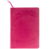 Pink Galations 5:22-23 Journal