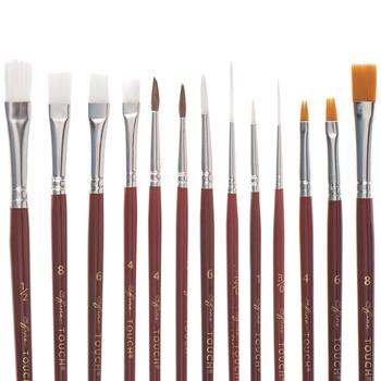 Artist Paint Brushes - 25 Piece Set