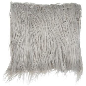 Faux Fur Square Pillow