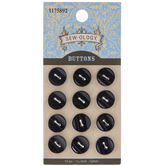 Round Buttons - 12mm