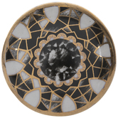 Gold & Gray Marble Knob