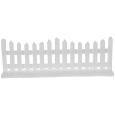 Miniature White Fences
