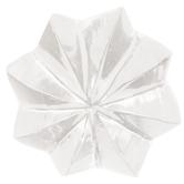Flared Star Glass Knob