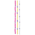 Pink, Yellow & White Clay Disc Bead Strands