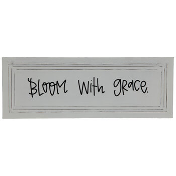 Bloom With Grace Metal Decor