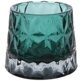 Round Glass Candle Holder