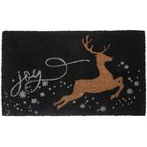 Joy Reindeer Doormat