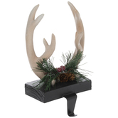 Reindeer Antlers Stocking Holder