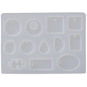 Flat & 3D Pendant Resin Molds