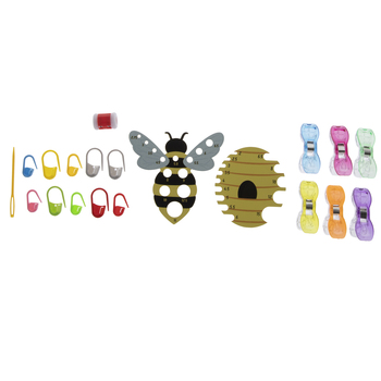Bee Crochet Tool Kit