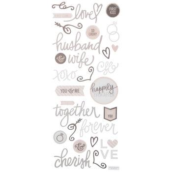 Wedding 3D Stickers