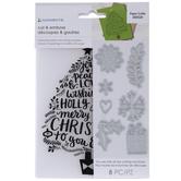 Christmas Tree Dies & Embossing Folder