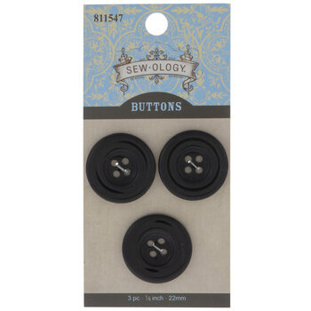 Round Tire Buttons