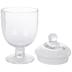 Chalice Glass Apothecary Jar