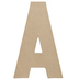 Paper Mache Letter A - 8 1/4