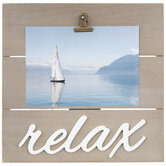 """Relax Wood Clip Frame - 5"""" x 7"""""""