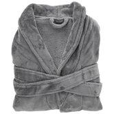Gray Velour Robe