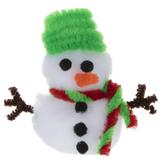 Snowman Pom Pom Craft Kit