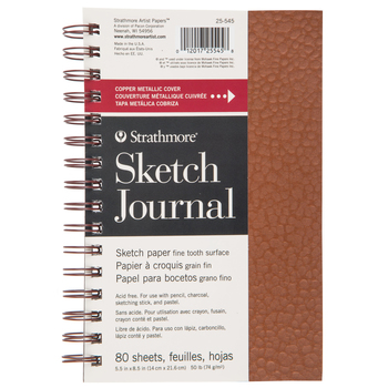 "Strathmore Metallic Sketch Journal - 5 1/2"" x 8 1/2"""