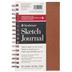 Copper Strathmore Metallic Sketch Journal - 5 1/2