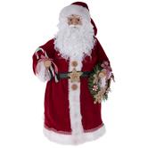 Candy Cane Santa Tree Topper