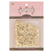 Assorted Brass Safety Pins