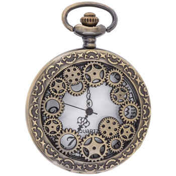 Steampunk Pocket Watch Pendant
