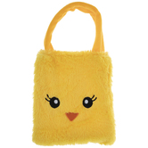 Yellow Plush Chick Tote Bag