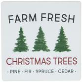 Farm Fresh Christmas Trees Magnet