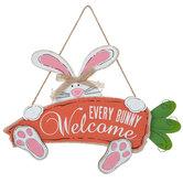 Every Bunny Welcome Wood Wall Decor