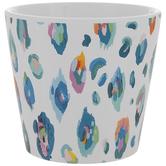 Multi-Color Leopard Print Pot