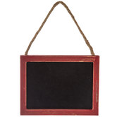 Red Chalkboard Ornament