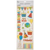 Birthday Boy Foil Stickers