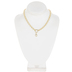 Lobster Clasp Focal Chain Necklace - 18