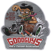 Goodguys Rod & Custom Metal Sign