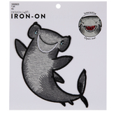 Chomp Hammerhead Shark Iron-On Applique