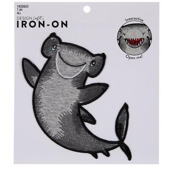 Chomp Hammerhead Shark Iron-On Applique