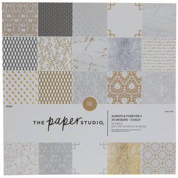 """Always & Forever 2 Paper Pack - 12"""" x 12"""""""