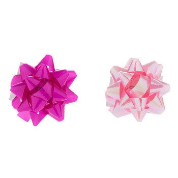 "Pinks Mini Bows  - 1"""