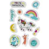 Unicorn Magic Cling Stamps