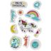 Unicorn Magic Cling Stamps