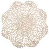 Round Natural Doily - 8""